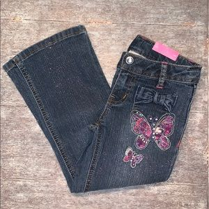 New with tags!Sonoma girls jeans size 4 boot cut